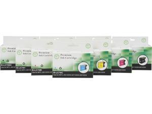Green Project B-LC79(10pk) 4 Black 2 Cyan 2 Magenta 2 Yellow Ink Cartridge Brother Replaces LC79