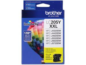 Brother LC205Y XXL Innobella Super High Yield Ink Cartridge For MFC-J4620DW&#59; Yellow
