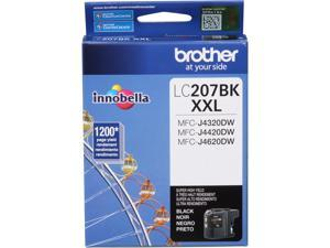 Brother Innobella LC207BK/LC207BKS Ink Cartridge 1200 Page Yield&#59; Black