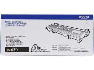 Brother TN630 Standard Yield Toner Cartridge for HL-L2300D, DCP-L2540DW, HL-L2340DW, HL-L2740DW&#59; Black