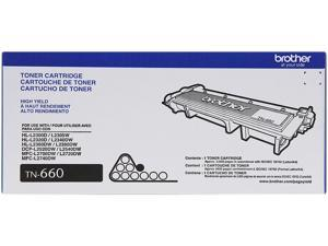Brother TN660 High Yield Toner Cartridge for DCPL2540DW, HL2360DW, MFCL2700DW&#59; Black
