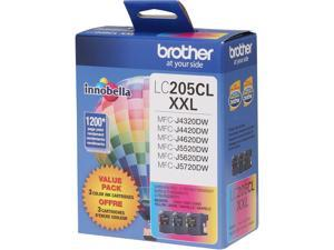 Brother Innobella LC2053PK Ink Cartridge 1200 Pages Yield&#59; Cyan, Magenta, Yellow