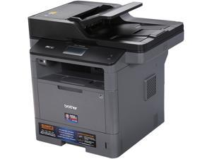 Brother MFC Series MFC-L5800DW Wireless Multifunction Duplex Monochrome Laser Printer, up to 42 Pages per Minute, 1200 dpi x 1200 dpi