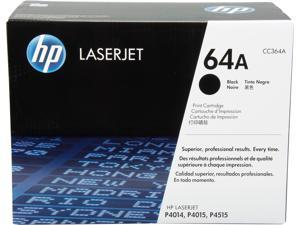 HP 64A Black LaserJet Toner Cartridge (CC364A)