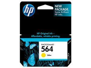 HP 564  Ink Cartridge 300 page yield (CB320WN#140) - Yellow