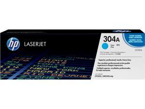HP 304A Cyan LaserJet Toner Cartridge (CC531A)