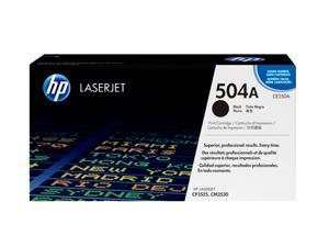 HP HP 504A (CE250A) Color LaserJet Print Cartridge Black