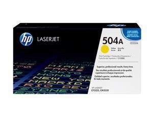 HP 504A (CE252A) Color LaserJet Print Cartridge Yellow
