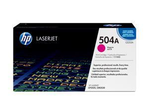 HP 504A Magenta LaserJet Toner Cartridge (CE253A)