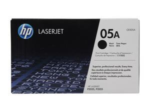 HP 05A LaserJet Black Print Cartridge (CE505A)