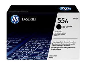 HP 55A Black LaserJet Toner Cartridge (CE255A)