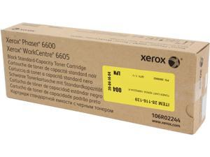 Xerox 106R02244 for Phaser 6600, WorkCentre 6605, Standard Capacity Toner Cartridge&#59; Black