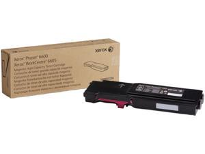 Xerox 106R02226 for Phaser 6600, WorkCentre 6605, High Capacity Toner Cartridge&#59; Magenta