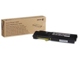 Xerox 106R02227 for Phaser 6600, WorkCentre 6605, High Capacity Toner Cartridge&#59; Yellow
