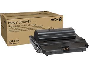 XEROX 106R01412 High Capacity Print Cartridge for Phaser 3300MFP Black