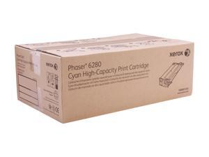 XEROX 106R01392 High Capacity Print Cartridge For Phaser 6280 Cyan