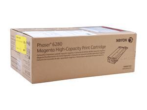 XEROX 106R01393 High Capacity Print Cartridge For Phaser 6280 Magenta
