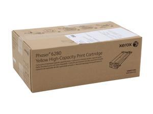 XEROX 106R01394 High Capacity Print Cartridge For Phaser 6280 Yellow
