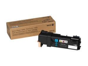 Xerox 106R01591 for Phaser 6500, WorkCentre 6505, Standard Capacity Toner Cartridge&#59; Cyan (1,000 Pages)