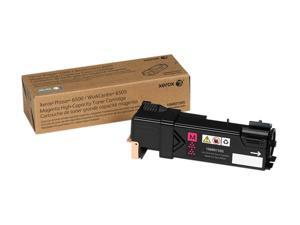 Xerox 106R01595 for Phaser 6500, WorkCentre 6505, High Capacity Toner Cartridge&#59; Magenta (2,500 Pages)