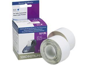 Seiko Self-Adhesive Address Labels, 1-1/8 x 3-1/2, White, 260/Box
