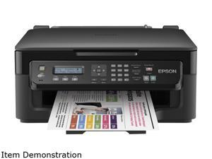 EPSON WorkForce C11CC58301 Up to 34 ppm Black Print Speed 5760 x 1440 dpi Color Print Quality InkJet MFC / All-In-One Color Printer