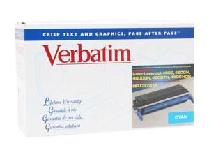 Verbatim 94955 Cyan HP C9721A Compatible Cyan Toner Cartridge