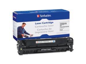 Verbatim 97484 Cyan HP CC531A Replacement Laser Cartridge