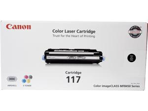 Canon CRG 117 Black, Cartridge 117 (2578B001) CRG-117 Black Laser Toner Cartridge Black