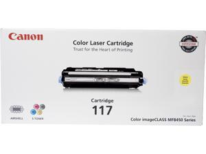 Canon CRG 117 Toner Cartridge&#59; Yellow (2575B001)