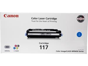 Canon CRG 117 Cyan, Cartridge 117 (2577B001) CRG-117 Cyan Toner Cartridge Cyan