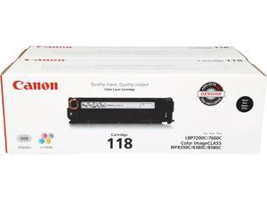 Canon 118 Dual Pack Toner Cartridge (2662B004)&#59; Black