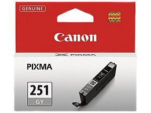 Canon (251-GY) CLI-251 GY Grey Standard Capacity Ink Tank (6517B001)