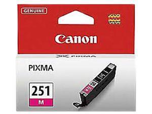 Canon 251 ink CLI-251 M Magenta Standard Capacity Ink Cartridge for Canon MX922, MG5520, MG5520, iX6850 printers&#59;(6515B001)