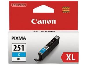 Canon CLI-251C XL Ink tank High Yield&#59; Cyan (6449B001)