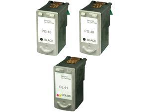 Green Project C-PG40/CL41(3pk) Black Ink Cartridge Replaces Canon