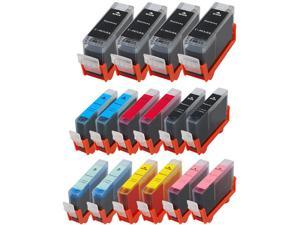 Green Project C-BCI3(16pk) Black Ink Cartridge C-BCI3ePBK R Replaces Canon
