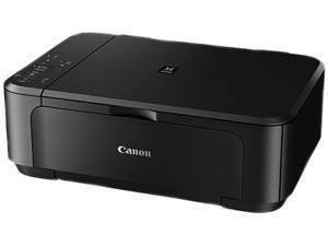 Canon PIXMA MG3520 Black 9.9 ipm Black Print Speed 600 x 600 dpi Color Print Quality InkJet 3-in-1 Color Printer