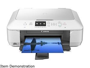 Canon PIXMA PIXMA MG6420 White Black:ESAT: Approx. 15.0 ipm Black Print Speed 4800 x 1200 dpi Color Print Quality Wireless LAN (IEEE 802.11b/g/n) InkJet Color Printer