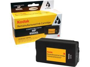 KODAK Remanufactured Ink Cartridge Compatible With HP 950 XL / 950XL (CN045AN) High-Yield Black