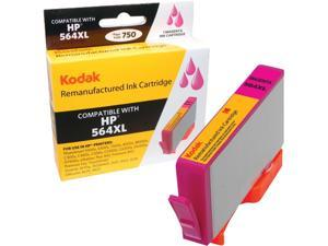 Kodak remanufactured CN686WN, HP564XL, HP 564XL Magenta inkjet cartridge compatible with HP 1st / 2nd Gen - Photosmart D5445 / D5460 / 5510 / 5511 / 5512 / 5514 / 5515 / C6340 / C6350 / C6380 / 6510 /