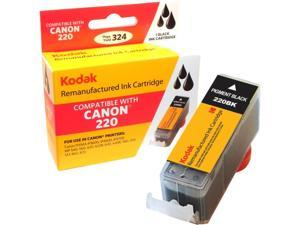 KODAK Remanufactured Ink Cartridge Compatible With Canon 220 (PGI-220) High-Yield Pigment Black