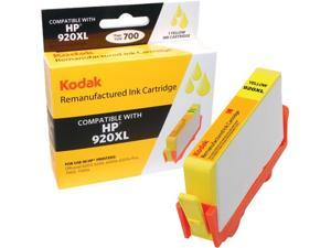 KODAK Remanufactured Ink Cartridge Compatible With HP 920 XL / 920XL (CD974AN) High-Yield Yellow