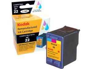 KODAK Remanufactured Ink Cartridge Compatible With HP 22 (C9352AN) High-Yield Color