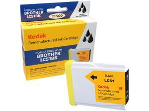 KODAK Remanufactured Ink Cartridge Compatible With Brother LC51 (LC51BK) High-Yield Black