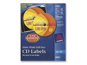 AVERY 8960 CD / DVD Label