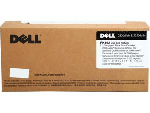 Dell PK492 (Parts # XN009) Toner Cartridge 2,000 page yield for Dell 2330d, 2330dn, 2350d and 2350dn Laser Printers&#59; Black