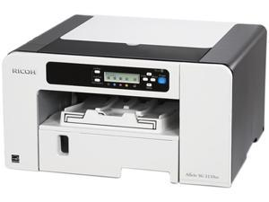 RICOH Aficio SG series 3110DN Up to 29 ppm Black Print Speed 3600 x 1200 dpi Color Print Quality Piezo Inkjet System Workgroup ...