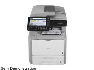 RICOH Aficio SP Series 5210SR MFC / All-In-One Up to 52 ppm Monochrome Laser Multifunction Printer with Internal Staple Finisher