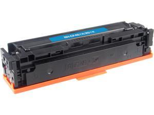 Rosewill RTCS-CF401X Cyan Toner Cartridge Replace HP CF401X, 201X Cyan